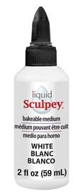 Sculpey: Liquid Bakeable Clay - White (59ml)