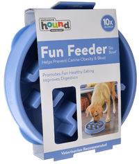 Outward Hound: Fun Feeder Notch Blue - Large