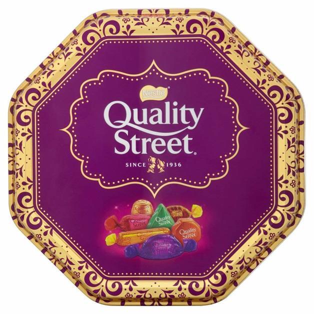 Nestle Quality Street Festival Tin (1kg)