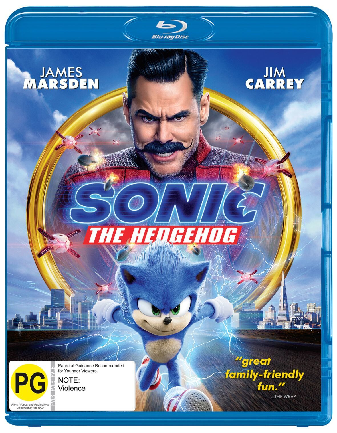 Sonic The Hedgehog on Blu-ray image