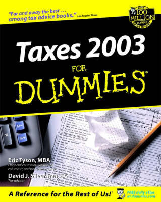 taxes for dummies eric tyson book buy now at mighty ape nz