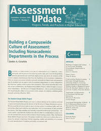 Assessment Update by Trudy W. Banta & Associates image