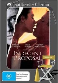 Indecent Proposal on DVD