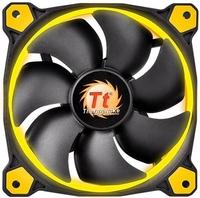 140mm Thermaltake Riing 14 High Static Pressure LED Radiator Fan - Yellow
