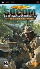 SOCOM U.S. Navy Seals: Fireteam Bravo + Headset for PSP