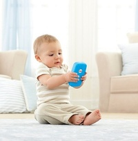 Fisher-Price: Laugh & Learn Smart Phone - Blue image