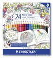 Staedtler - Noris Club Colour Pencils Johanna Basford - Pack of 24