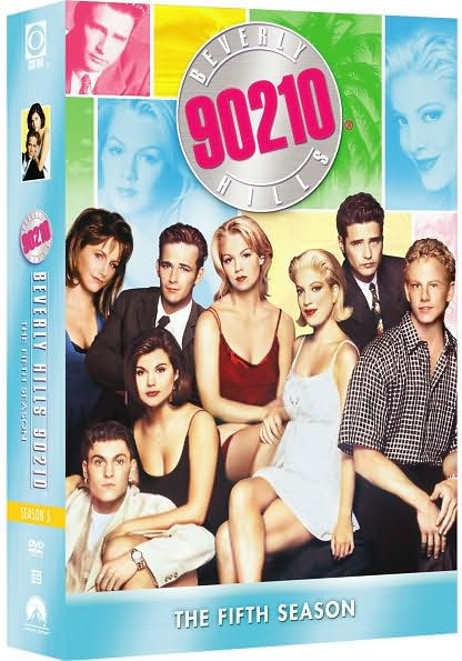 Beverly Hills 90210 - Season 5 (8 Disc Box Set) on DVD
