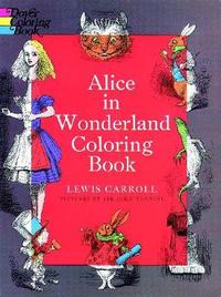 Alice in Wonderland Coloring Book by Lewis Carroll