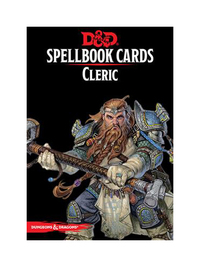 D&D Spellbook Cards: Cleric Deck (149 Cards)