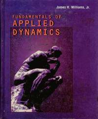 Fundamentals of Applied Dynamics by James H. Williams image