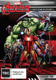 Avengers Assemble: Into The Future on DVD