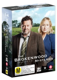 The Brokenwood Mysteries - Series 1-4 Boxset on DVD