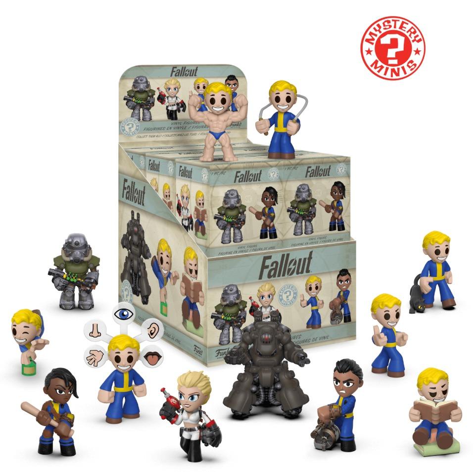 Fallout Series 2 Mystery Minis Vinyl Figure At Mighty Ape Nz Bott Funko Pop Lone Wanderer Male Blind Box Image