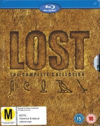 Lost: The Complete Seasons 1-6 Boxset on Blu-ray