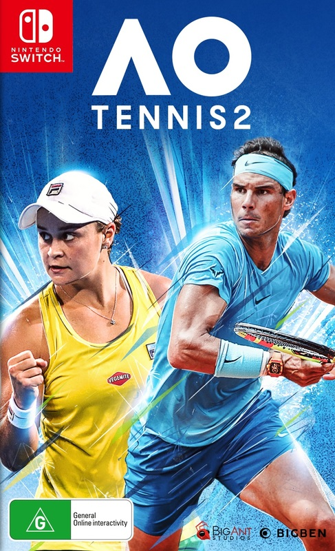 AO Tennis 2 for Switch