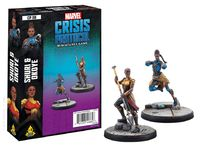Marvel Crisis Protocol Miniatures Game Shuri & Okoye Expansion image
