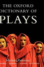 The Oxford Dictionary of Plays image