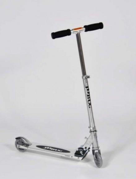 Aluminum Folding Scooter (100mm wheels) - Black image