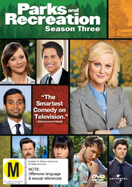 Parks and Recreation - Season 3 on DVD image