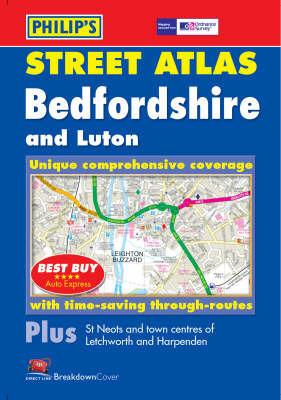 Philip's Street Atlas: Bedfordshire