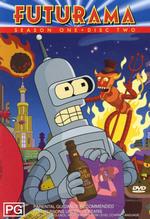 Futurama - Season 1 Disc 2 on DVD