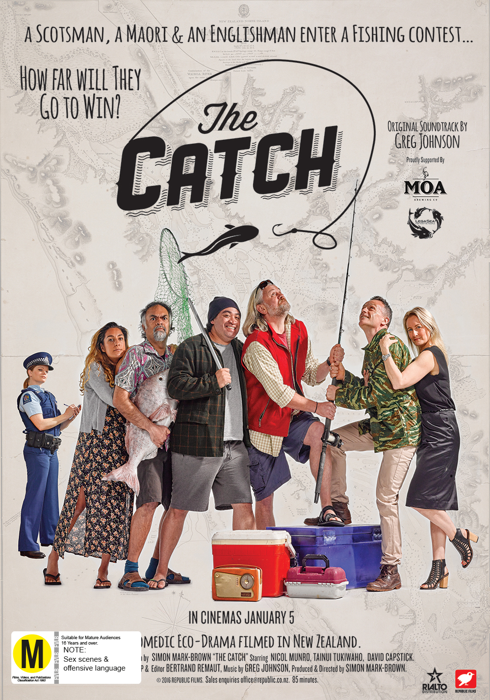 The Catch on DVD image