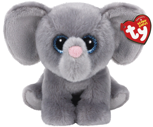Ty Beanie Babies: Whopper Elephant - Small Plush