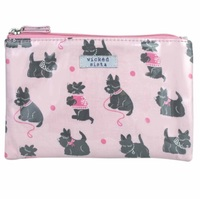 Wicked Sista Large Flat Purse - Scotty Dogs