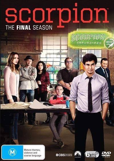 Scorpion: The Complete Fourth Season on DVD image