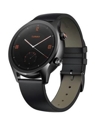 Mobvoi: TicWatch C2 - NFC Smartwatch (Onyx Black)