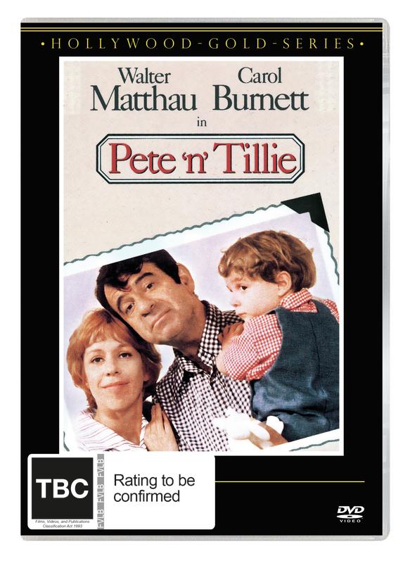 Pete 'n' Tillie on DVD