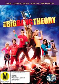 The Big Bang Theory: The Complete Fifth Season on DVD