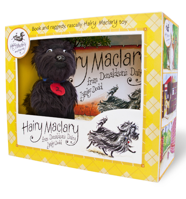 Hairy Maclary From Donaldson's Dairy - Book and Plush Boxed Set
