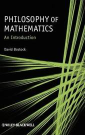 Philosophy of Mathematics by David Bostock image