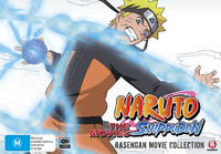 Naruto Shippuden Rasengan Movie Collection on DVD