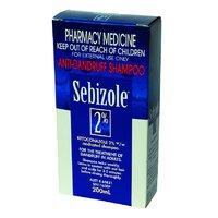 Sebizole 2% Anti-Dandruff Shampoo (200ml)