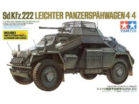 Tamiya 1/35 Sd.Kfz 222 w/Photo Etched Parts - Model Kit