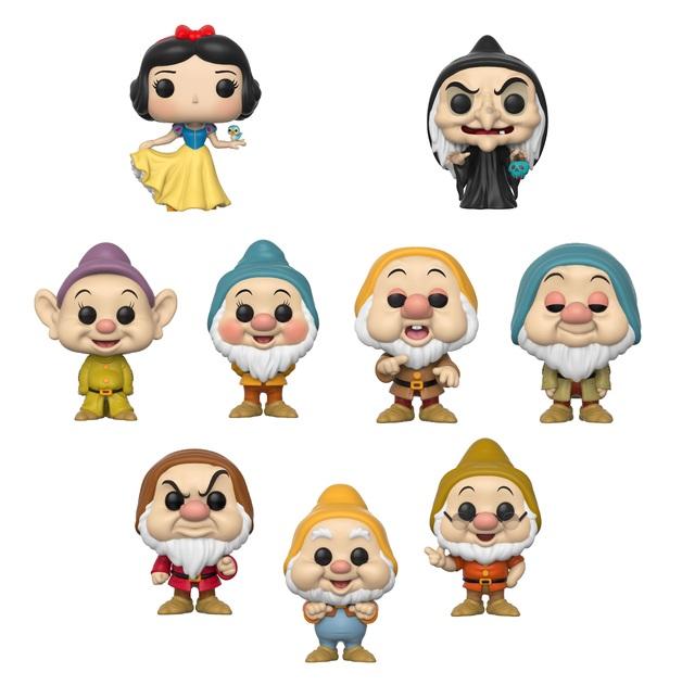 Snow White & the Seven Dwarfs - Pop! Vinyl Bundle (with a chance for a Chase version!)