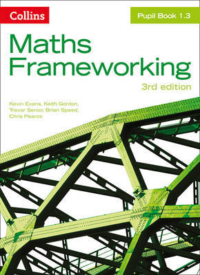 KS3 Maths Pupil Book 1.3 by Kevin Evans image