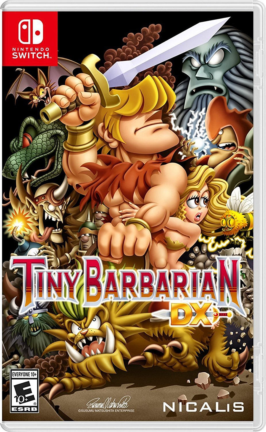Tiny Barbarian DX Launch Edition for Nintendo Switch image