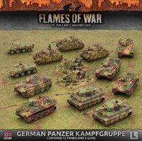 Flames of War: German Panzer Kampggruppe (Late War Army Box)