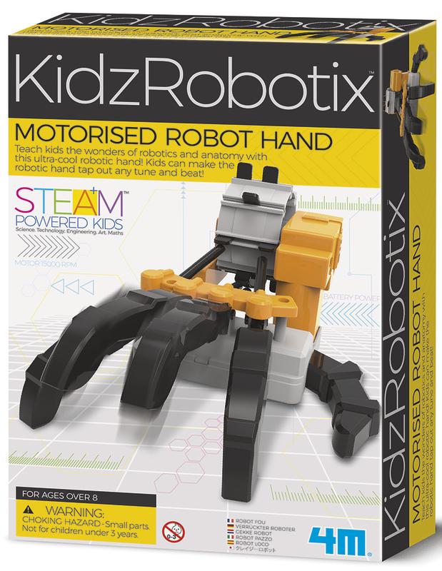 4M: KidzLabs - Motorised Robot Hand
