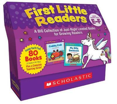 First Little Readers Classroom Set: Levels E & F by Liza Charlesworth image