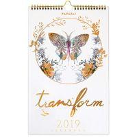 Papaya: Transform 2019 Wall Calendar