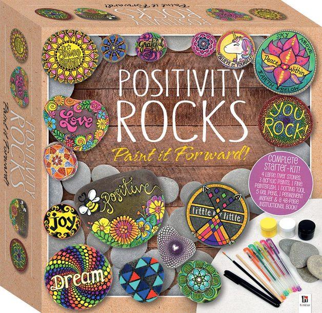 Hinkler: Positive Rocks - Tuck Box Kit
