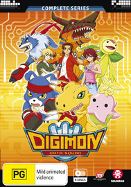 Digimon Data Squad (Season 5) Complete Series (Eps 1-48) on DVD