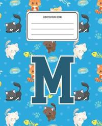Composition Book M by Cats Composition Books image