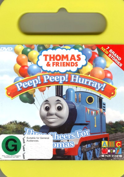 Thomas & Friends - Three Cheers For Thomas on DVD image
