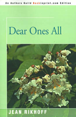 Dear Ones All by Jean Rikhoff image
